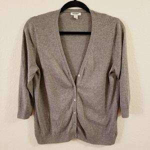Old Navy 3/4 Sleeve Cardigan Sweater - Large